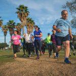קבוצת ריצה בפארק הירקון